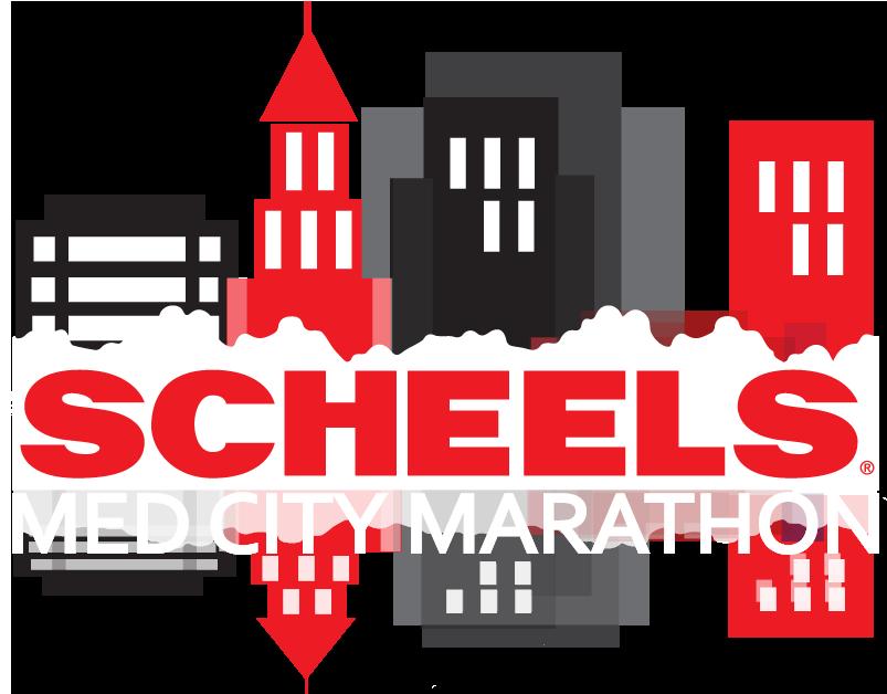 med city marathon logo