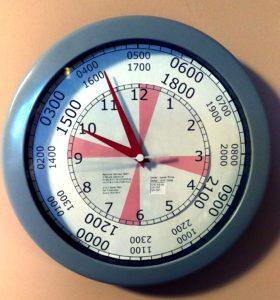 AA0CN UTC Radio Clock